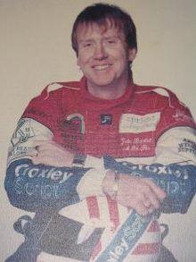John Bartlett racing driver photo