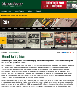Wanted Racing Driver